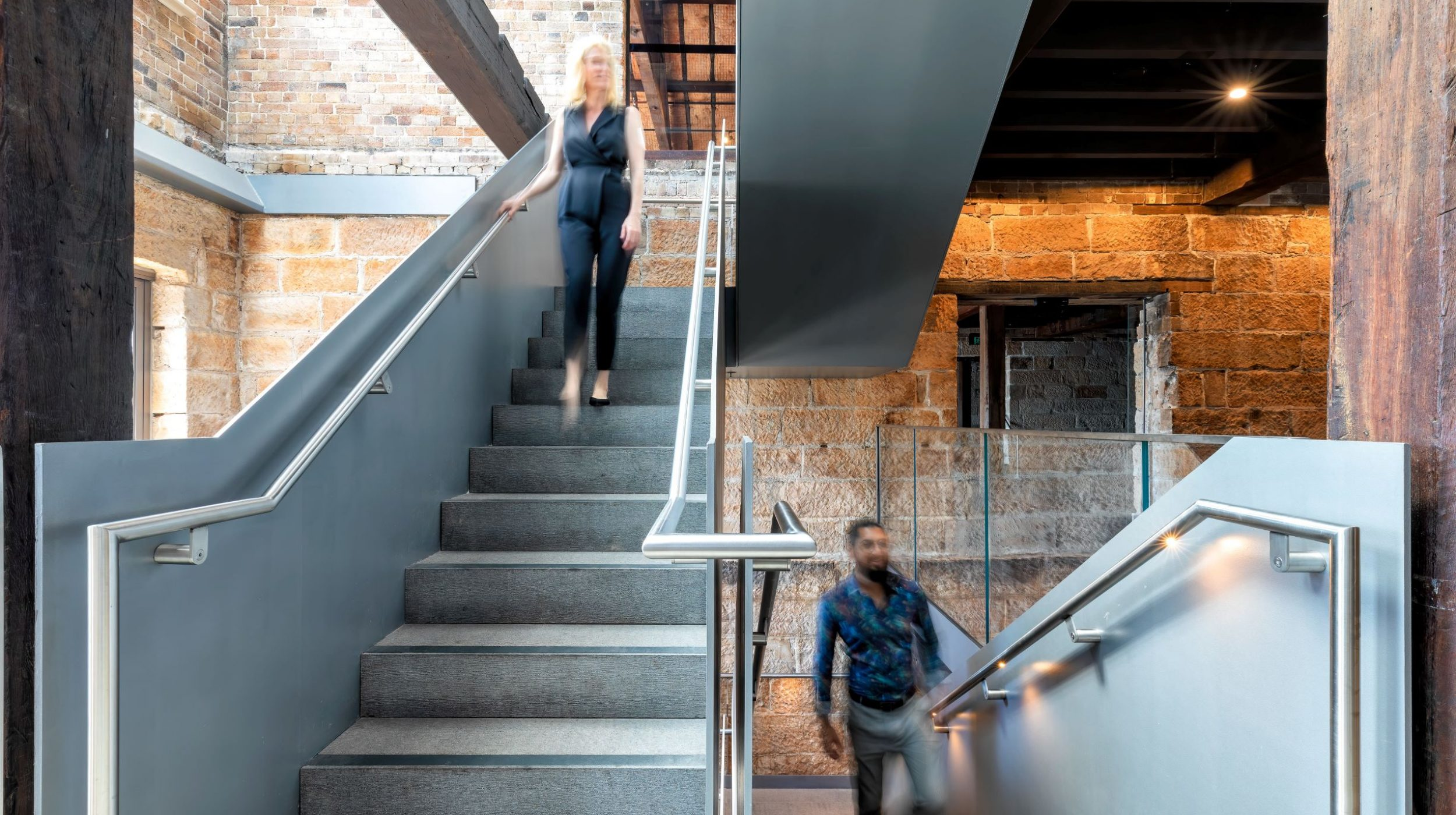 Iconic Steel Stairs | Campbells Stores | Active Metal 02
