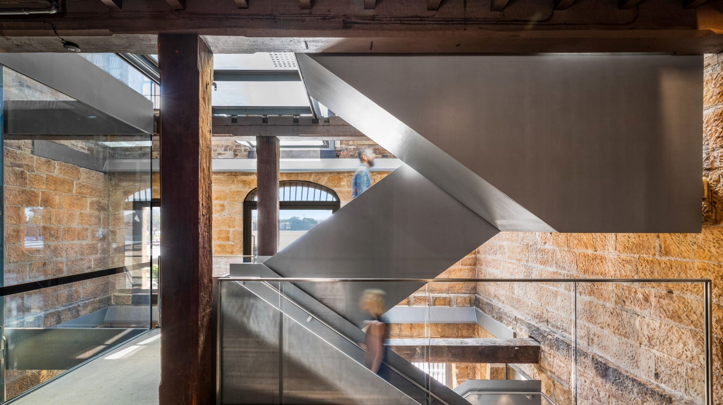Iconic Steel Stairs | Campbells Stores | Active Metal 01