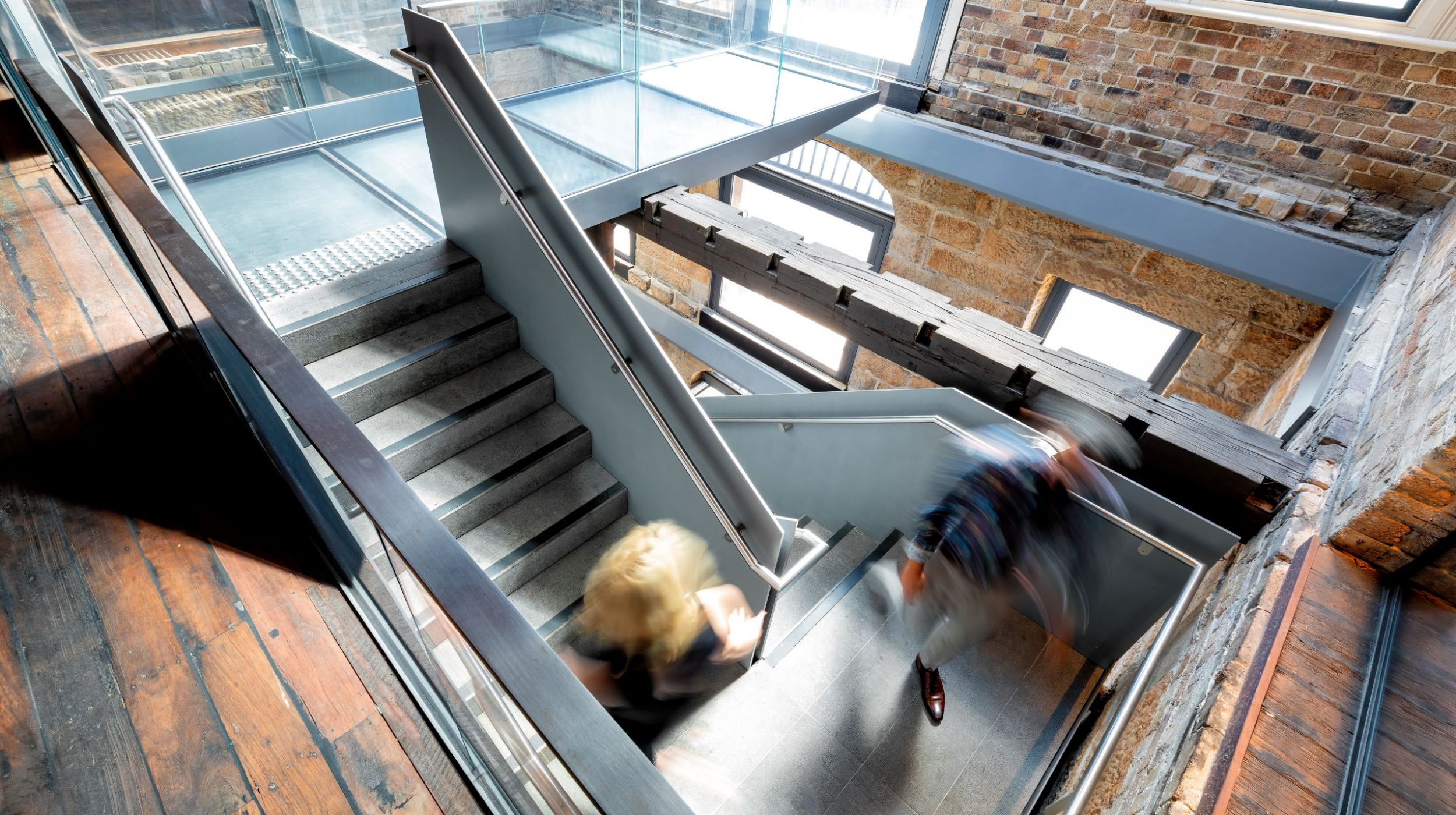 Iconic Steel Stairs | Campbells Stores | Active Metal 03
