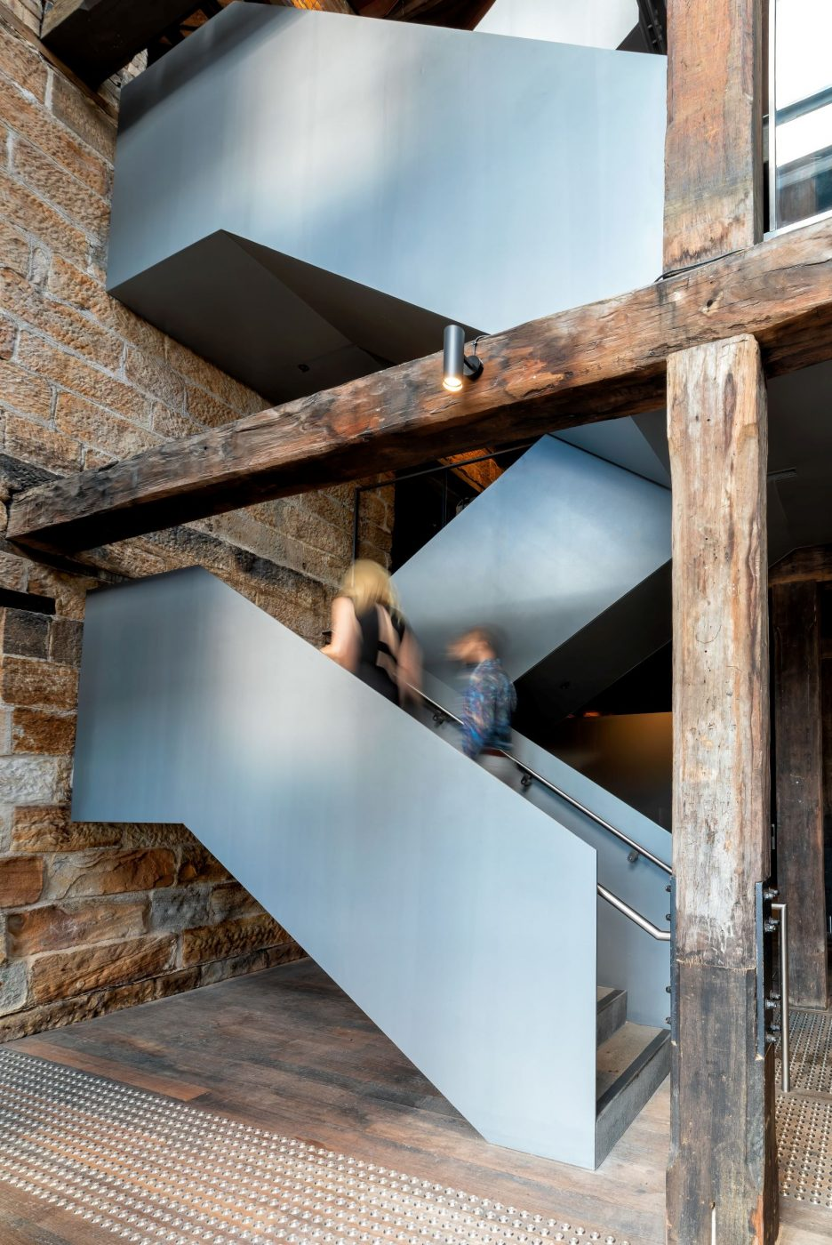 Iconic Steel Stairs | Campbells Stores | Active Metal 08