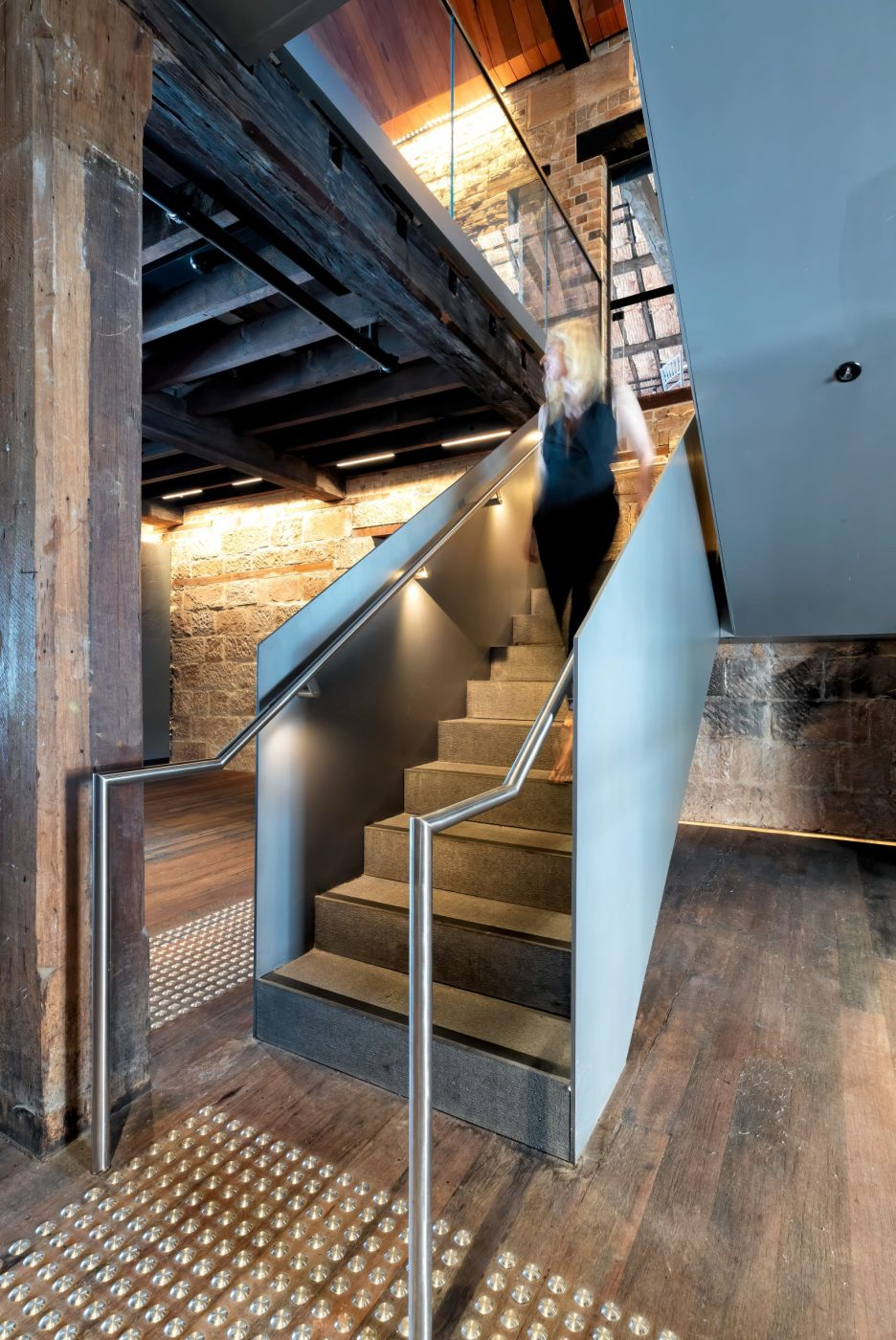Iconic Steel Stairs | Campbells Stores | Active Metal 07