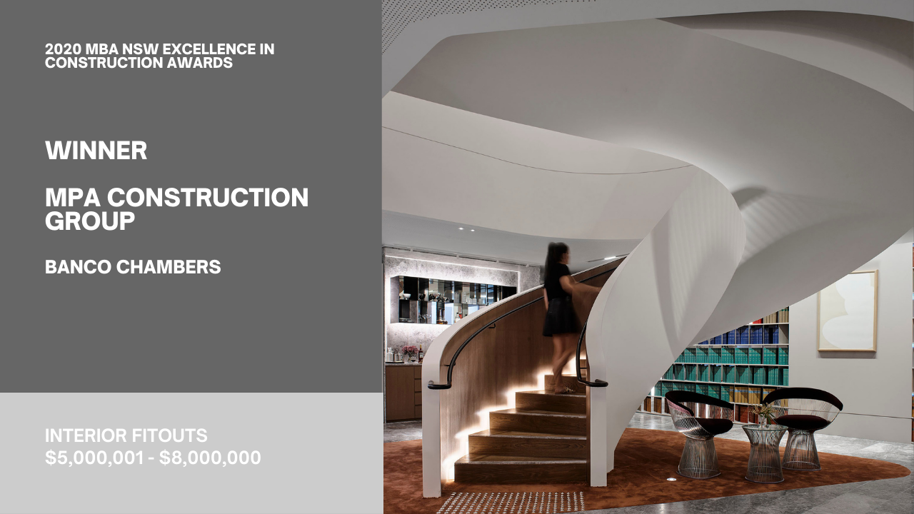 Banco Chambers - Spiral Stair