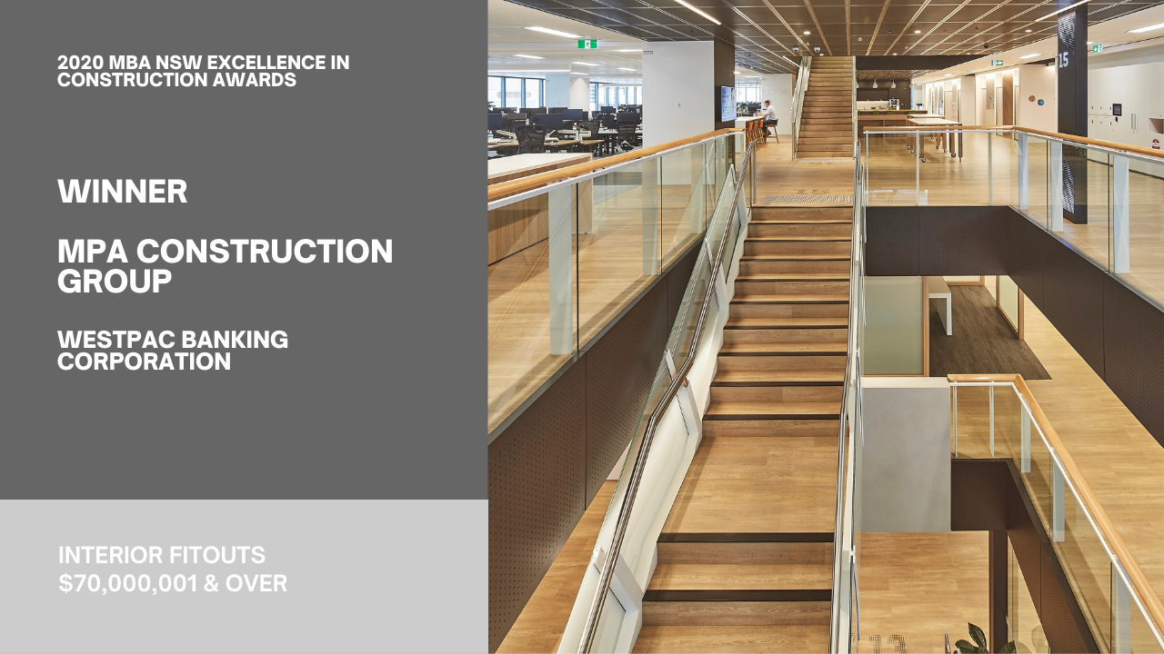 Westpac Banking Corporation - Interconnecting Stairs