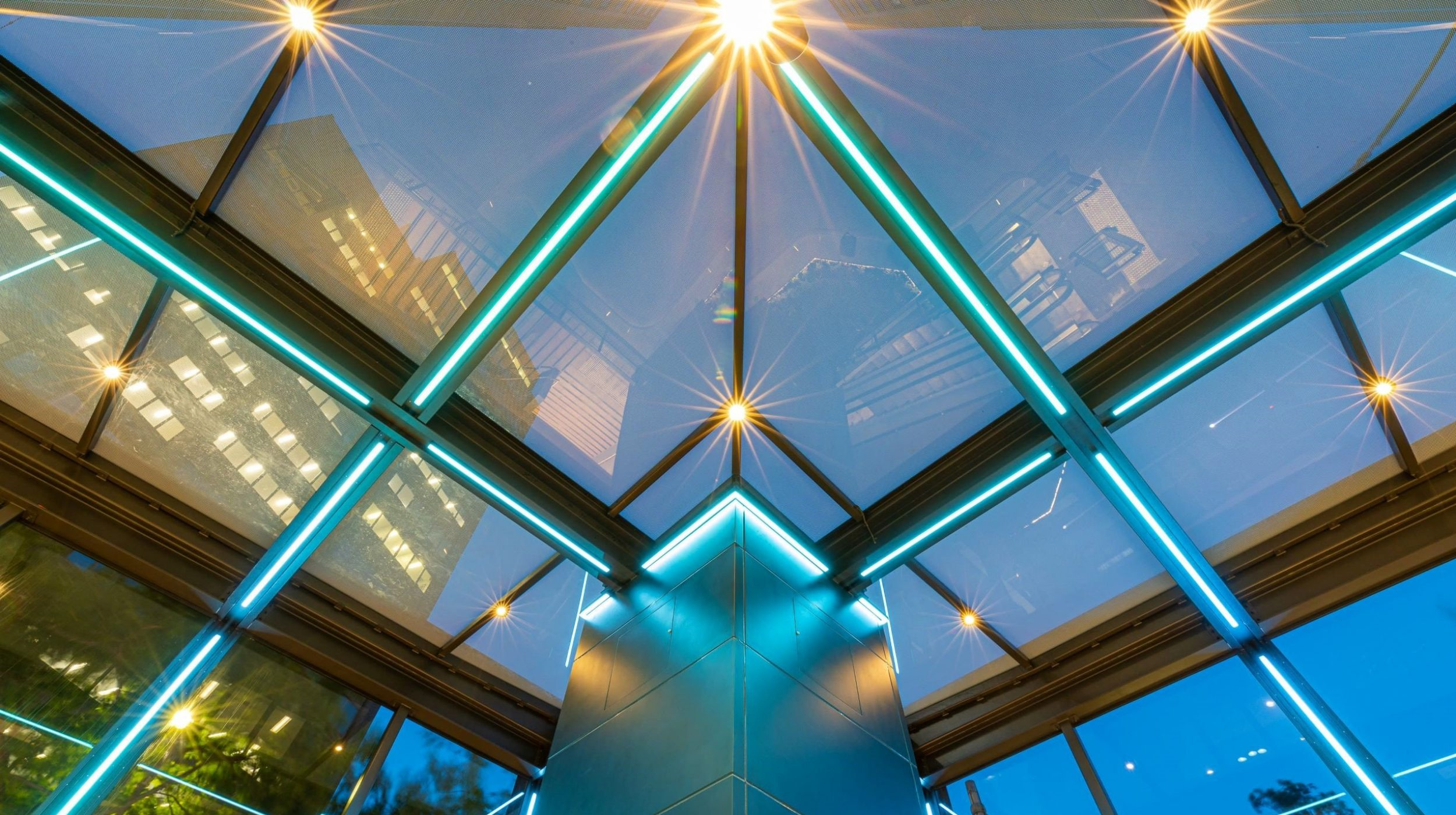 Architectural Steel and Glass Awning | 231 Elizabeth St | Active Metal  00
