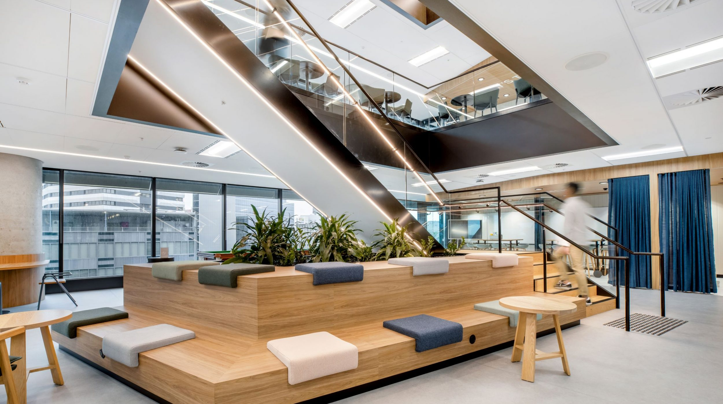 Iconic Staircase | SAP North Sydney | Active Metal 10