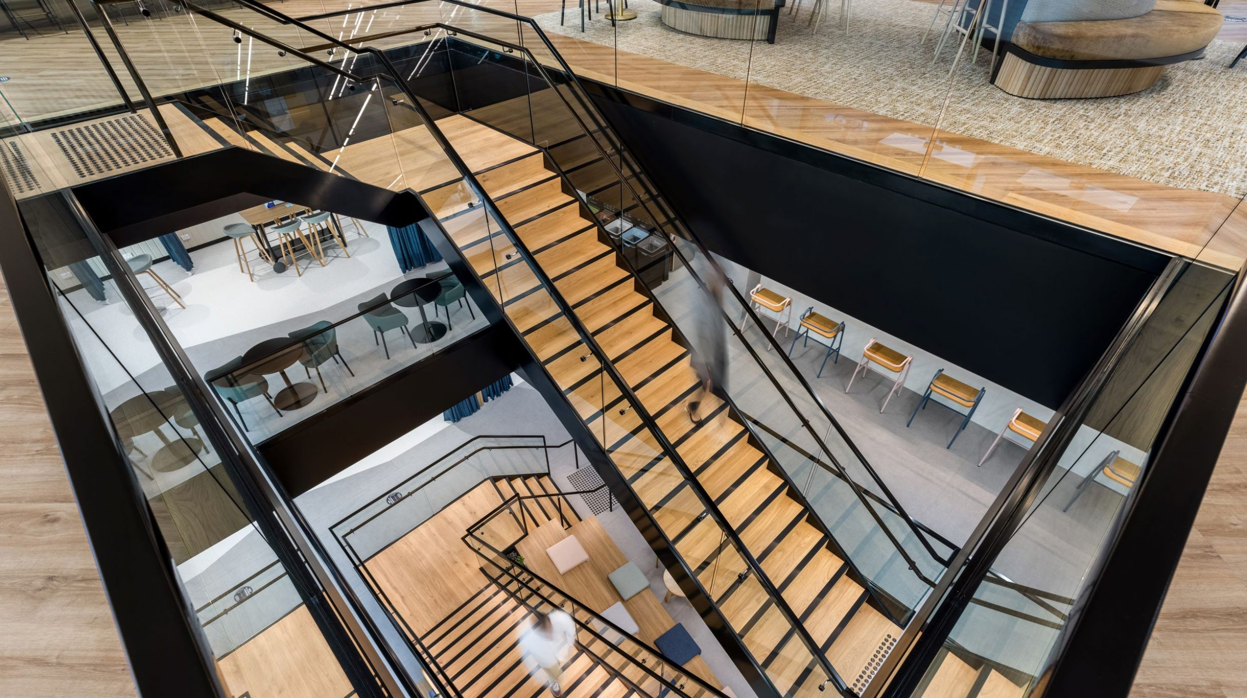 Iconic Staircase | SAP North Sydney | Active Metal 01