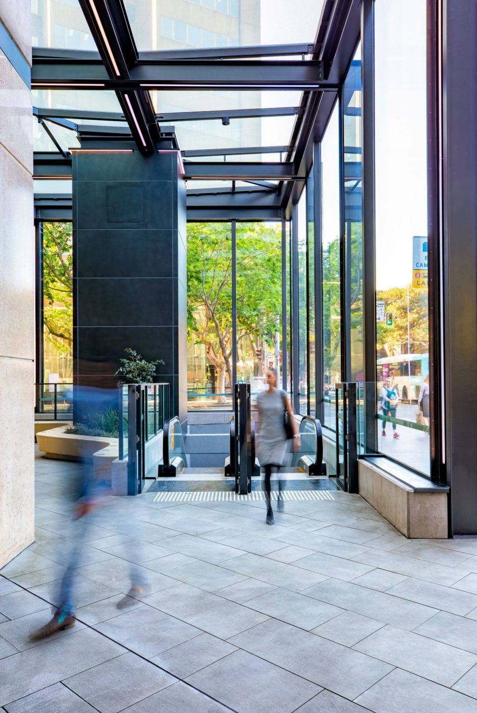 Architectural Steel and Glass Awning | 231 Elizabeth St | Active Metal 03