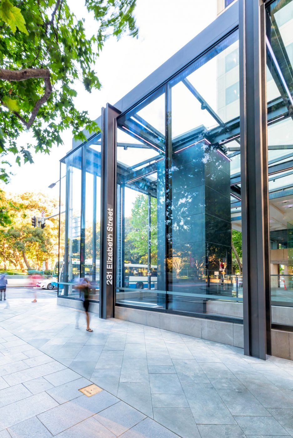 Architectural Steel and Glass Awning | 231 Elizabeth St | Active Metal  04