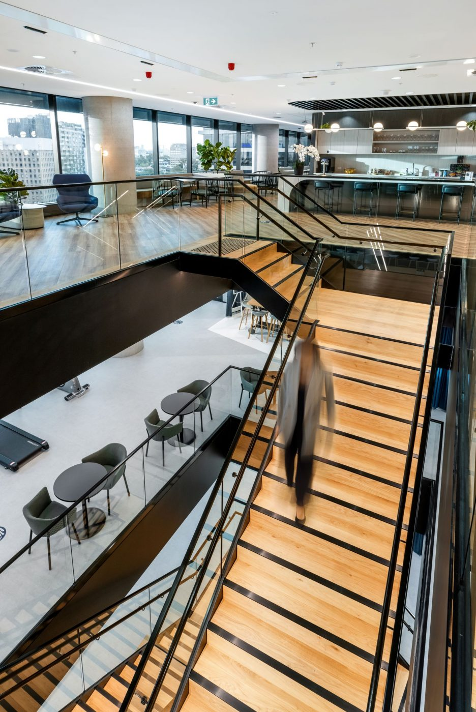 Iconic Staircase | SAP North Sydney | Active Metal 04