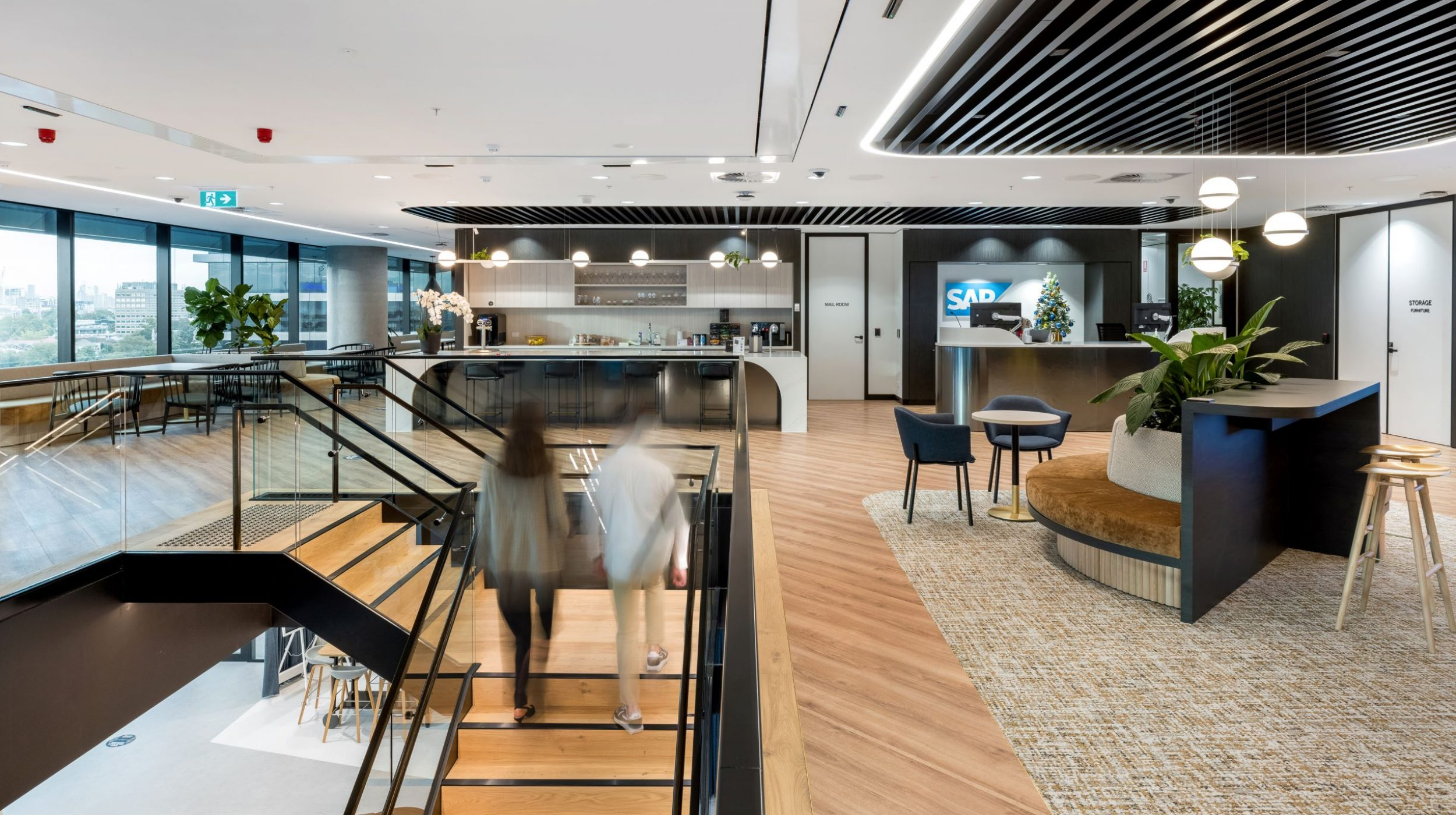 Iconic Staircase | SAP North Sydney | Active Metal 05