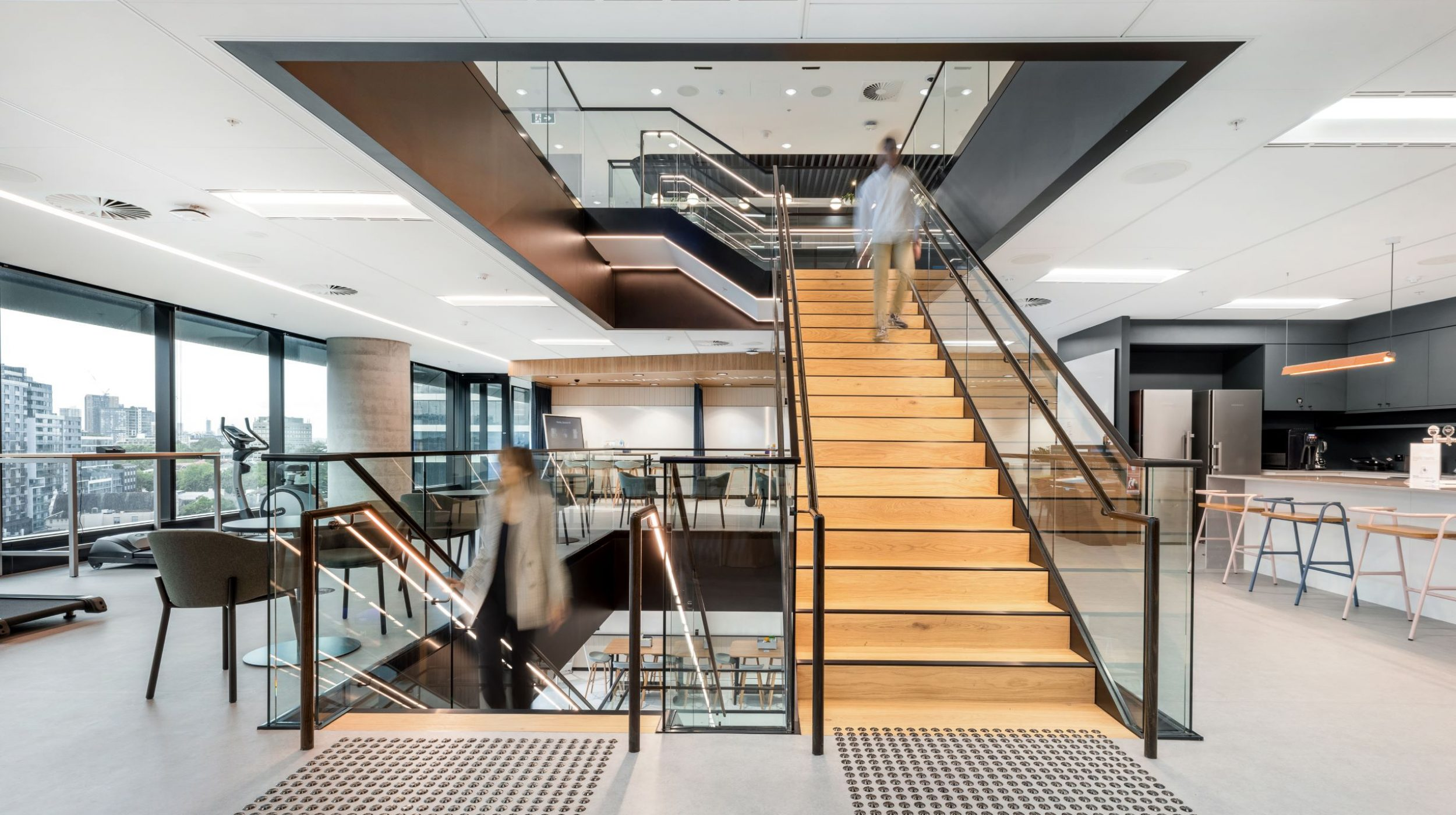 Iconic Staircase | SAP North Sydney | Active Metal 06