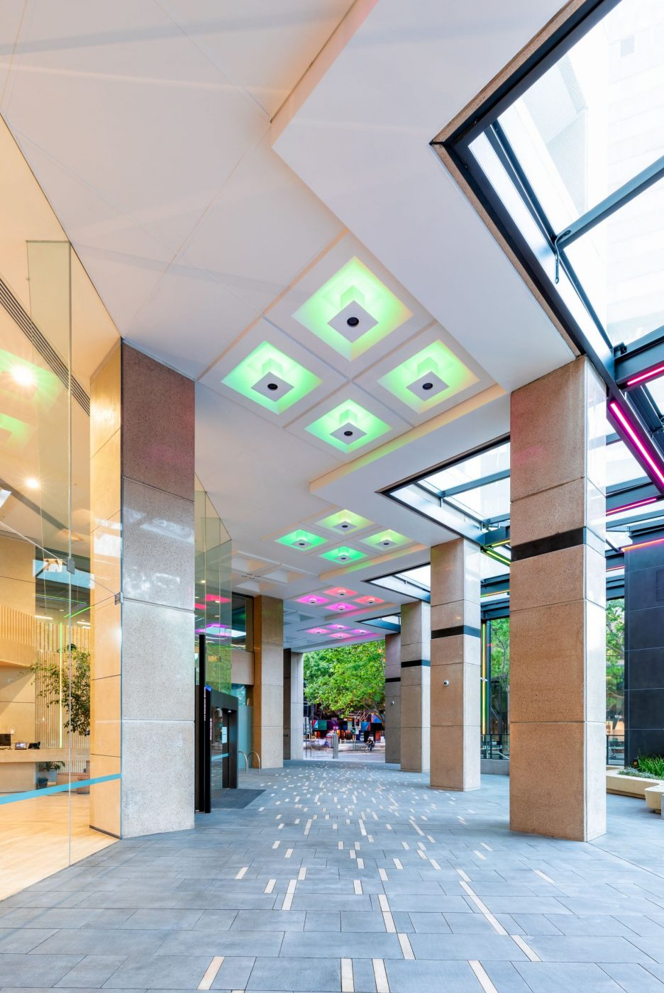 Architectural Steel and Glass Awning | 231 Elizabeth St | Active Metal 08
