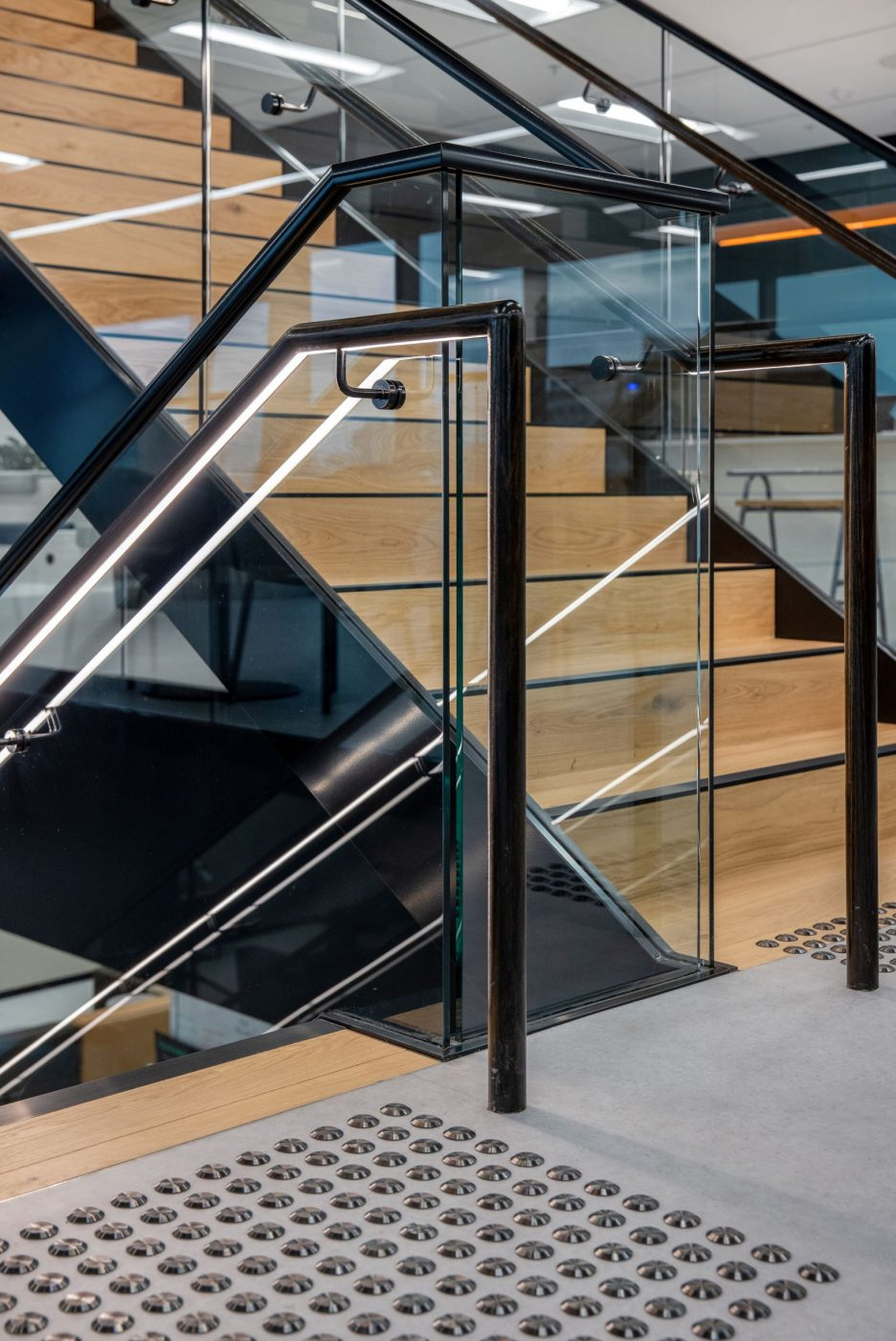 Iconic Staircase | SAP North Sydney | Active Metal 07