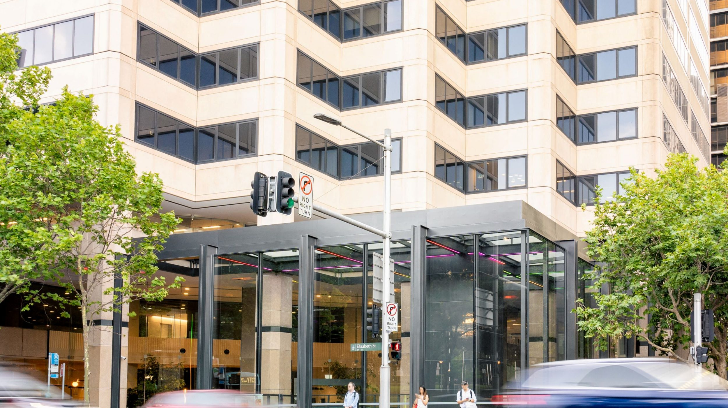 Architectural Steel and Glass Awning | 231 Elizabeth St | Active Metal 11