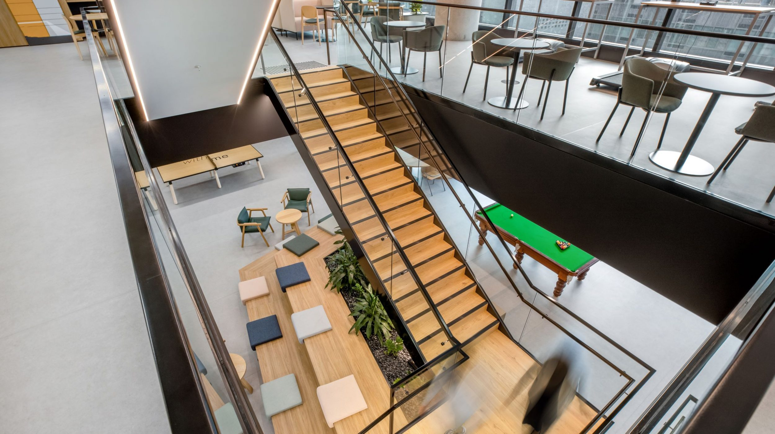 Iconic Staircase | SAP North Sydney | Active Metal 00