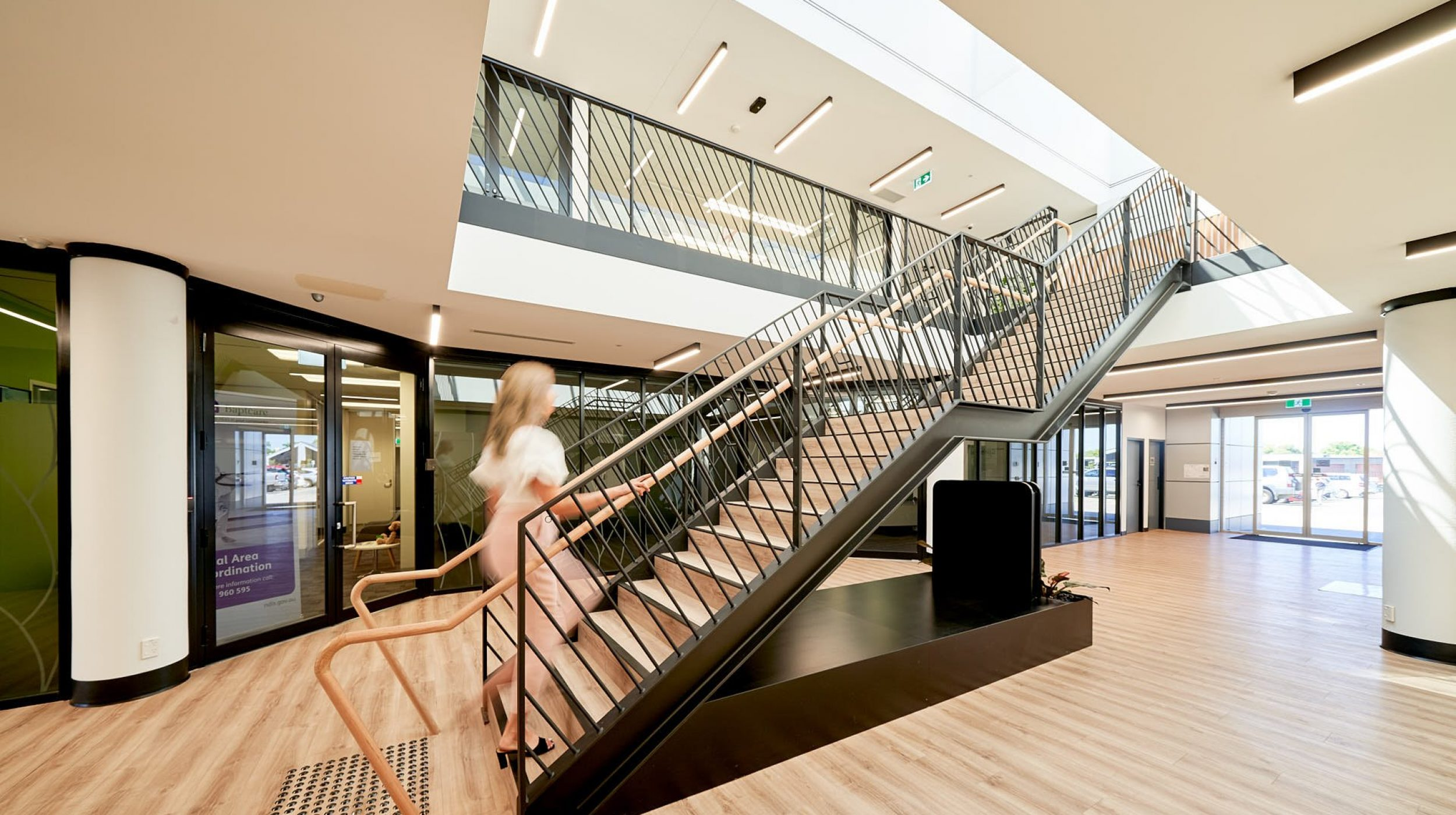 Architectural Staircase   United Voice   Active Metal 01