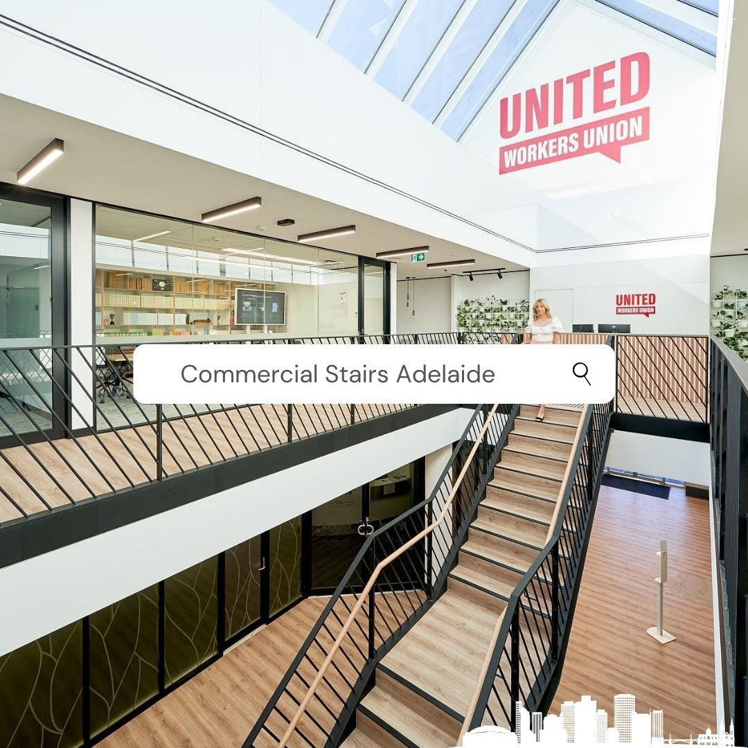 Commercial Stairs Adelaide