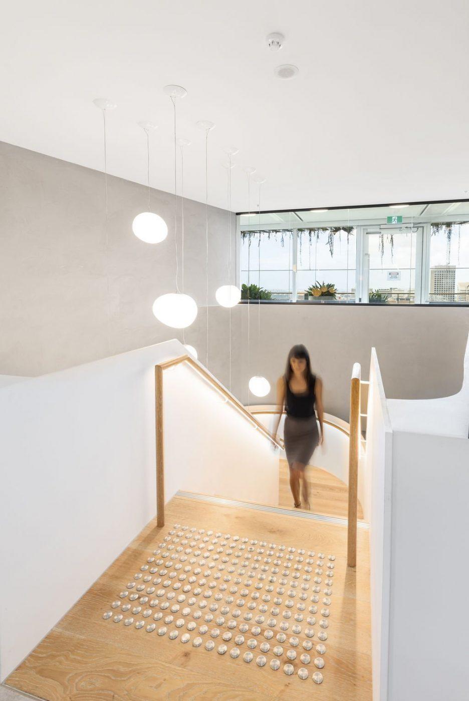 Plate steel stair | Mizuho Bank Sydney | Active Metal 08