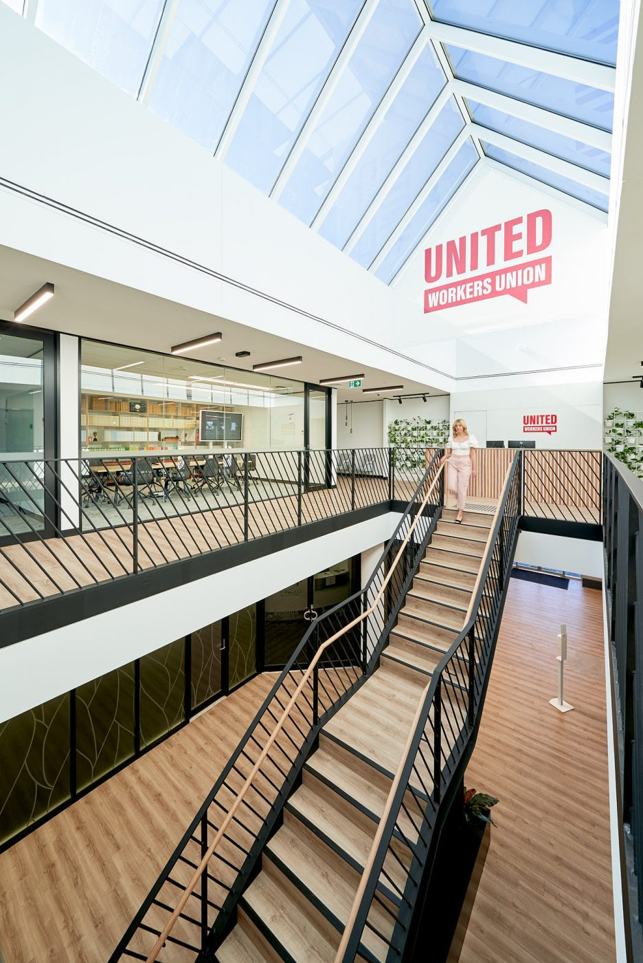 Architectural Staircase   United Voice   Active Metal 02