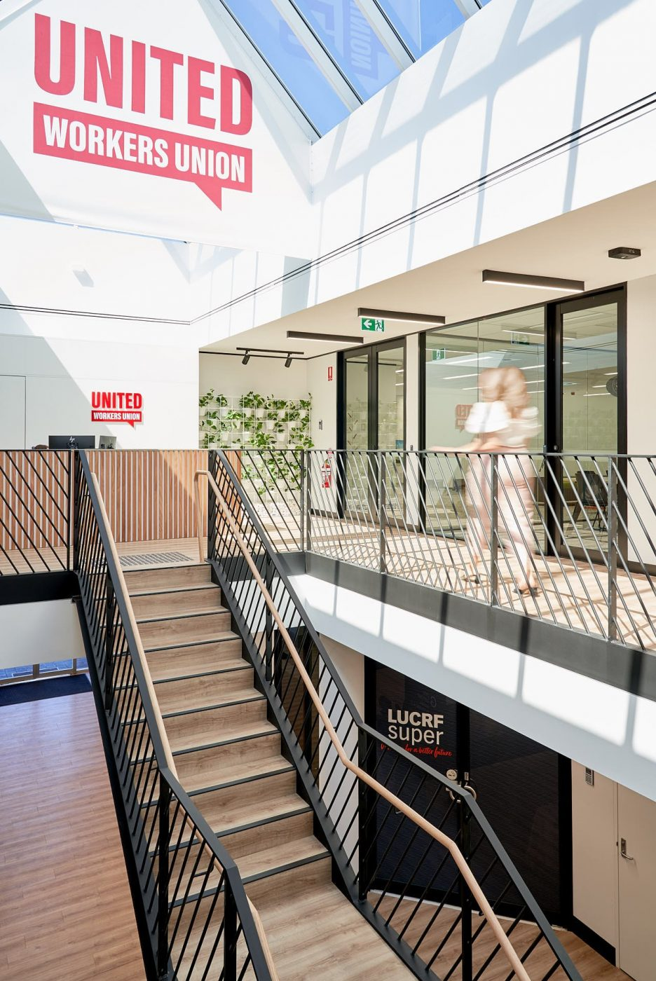 Architectural Staircase   United Voice   Active Metal 04