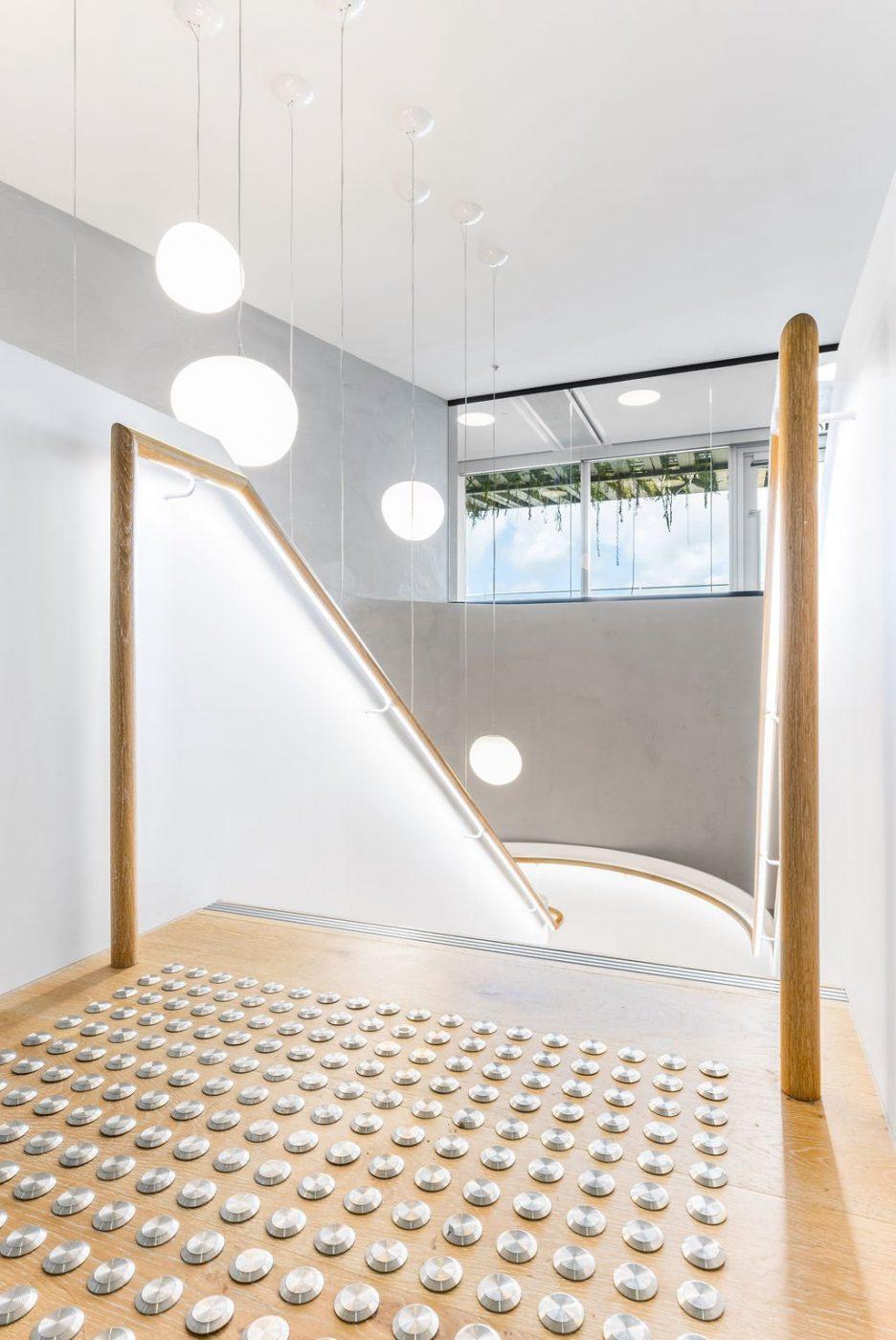 Plate steel stair | Mizuho Bank Sydney | Active Metal 11