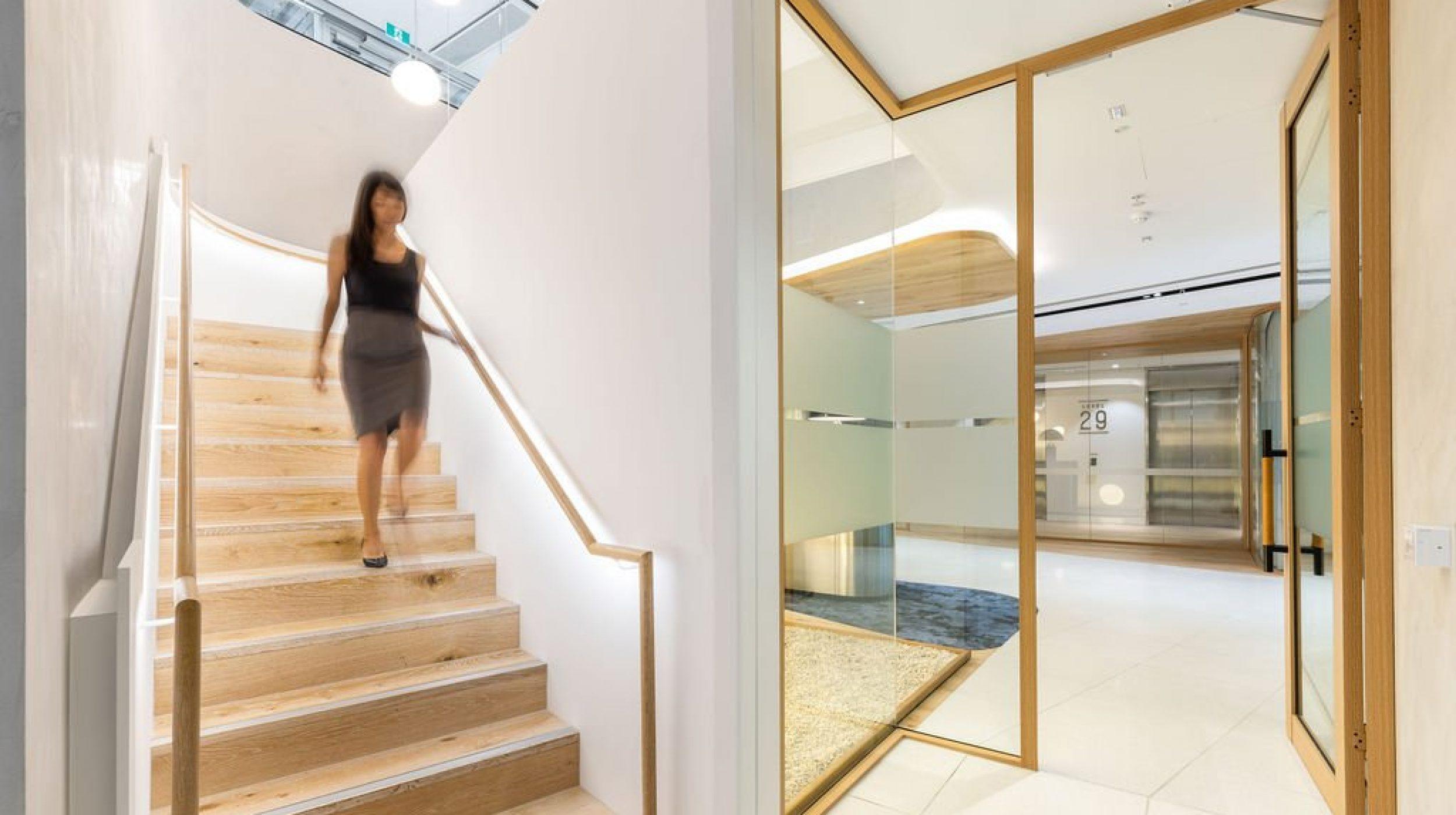 Plate steel stair | Mizuho Bank Sydney | Active Metal 05