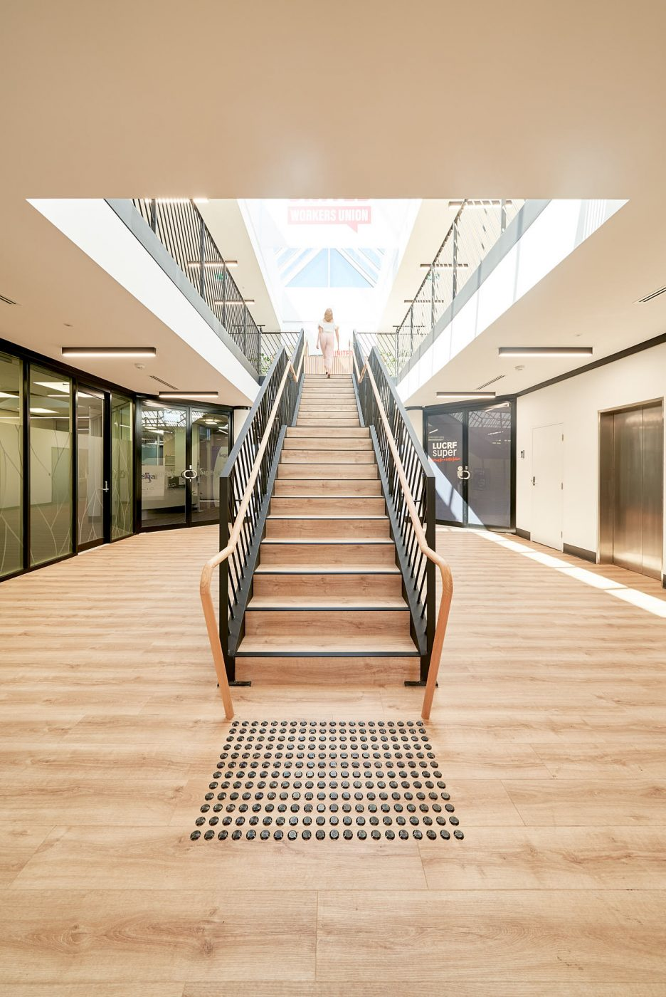 Architectural Staircase   United Voice   Active Metal 03