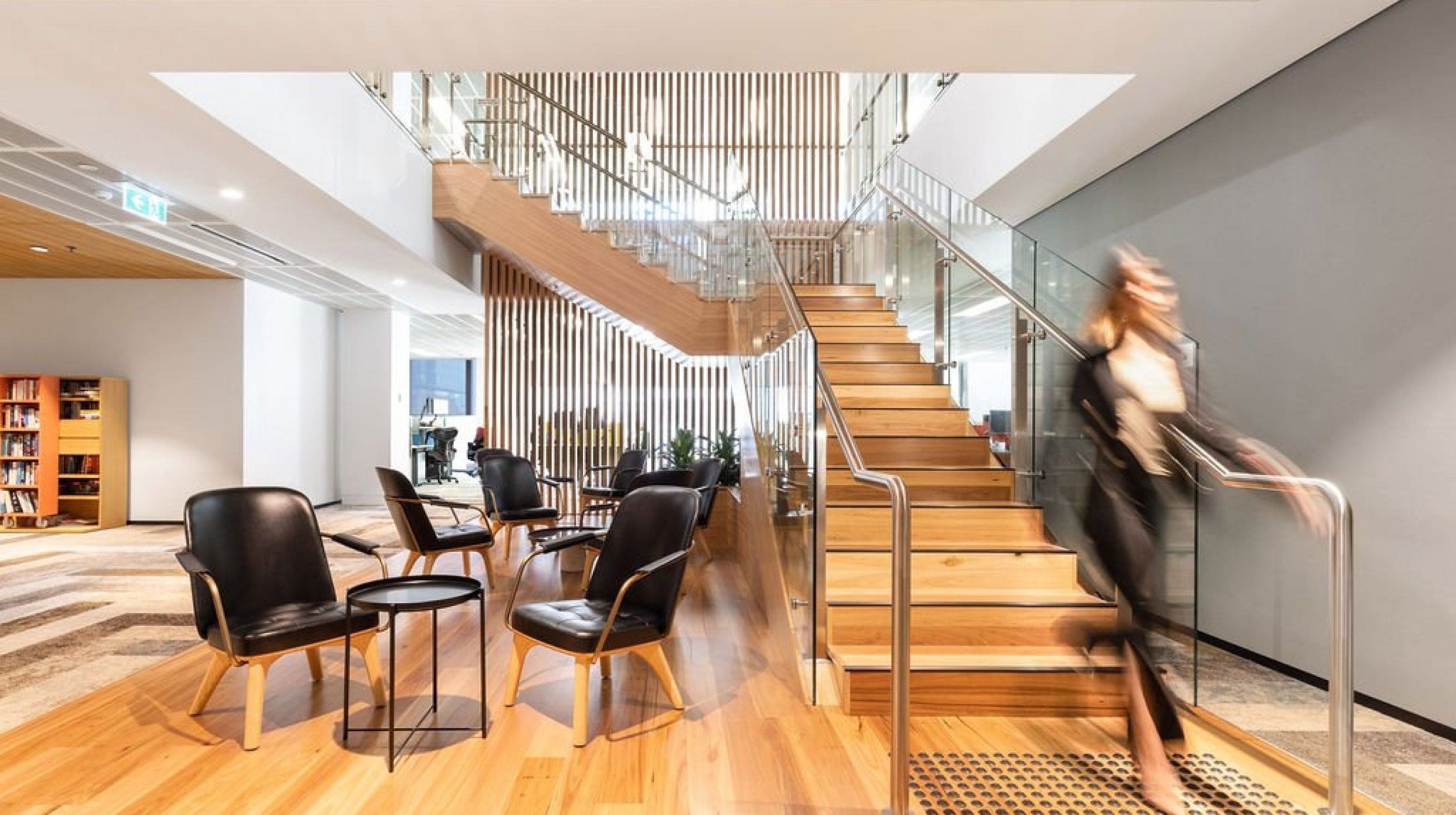 Designer Stair | Challenger Extension Fitout | Active Metal 09