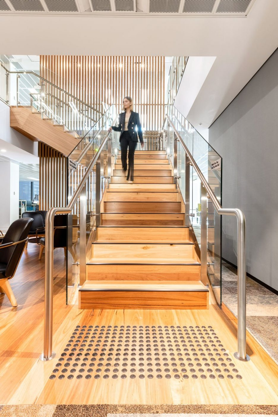 Designer Stair | Challenger Extension Fitout | Active Metal 06