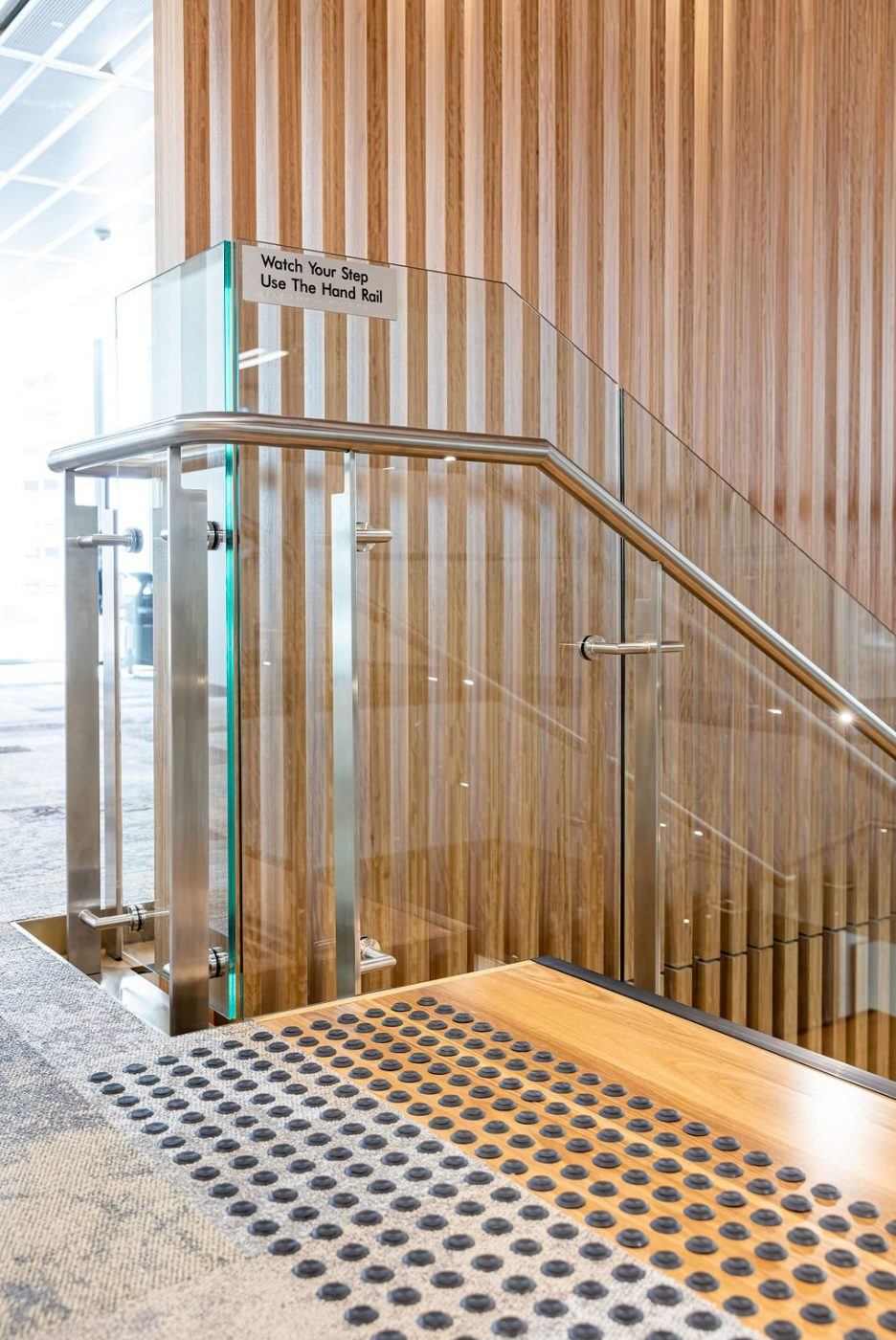 Designer Stair | Challenger Extension Fitout | Active Metal 07
