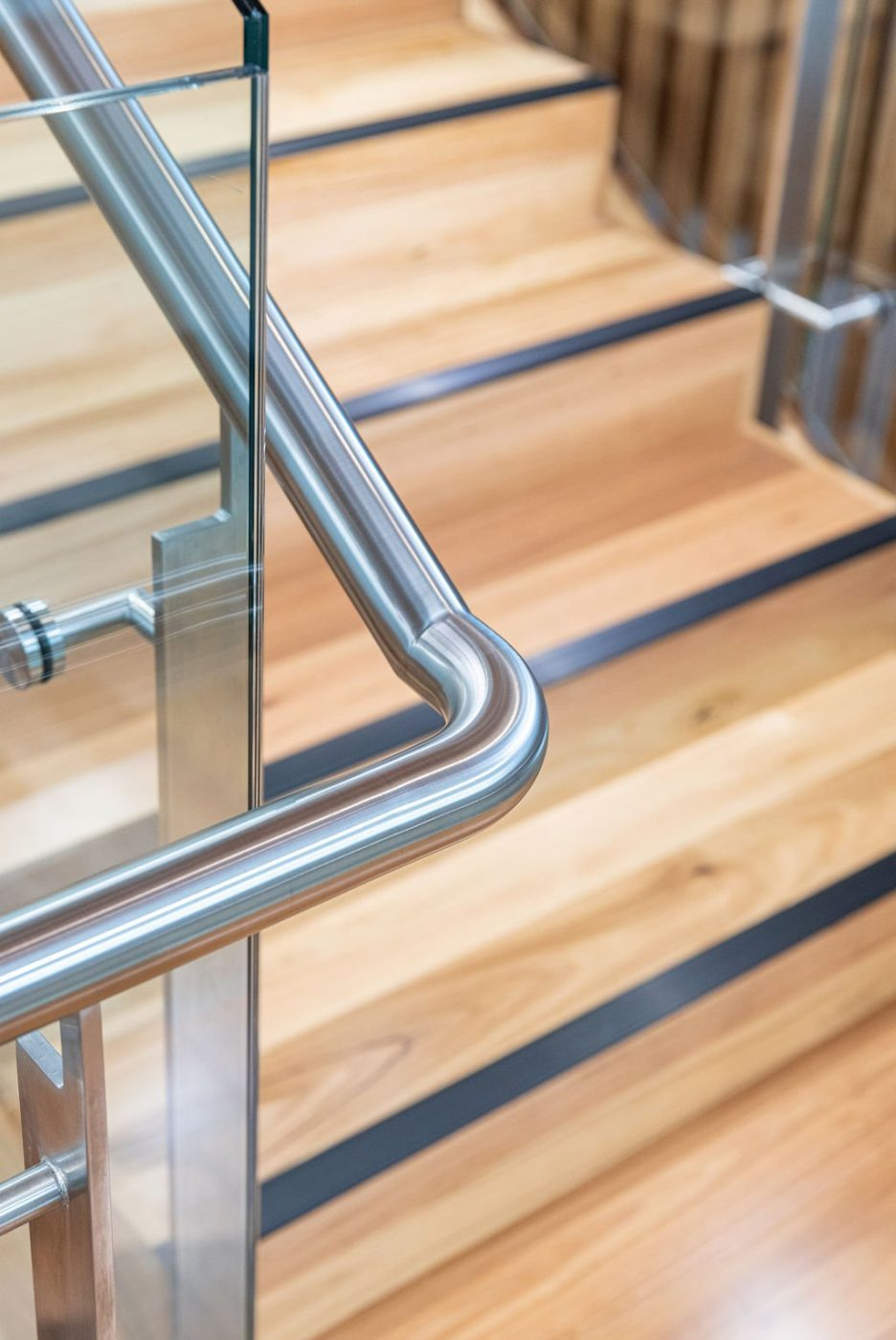 Designer Stair | Challenger Extension Fitout | Active Metal 08