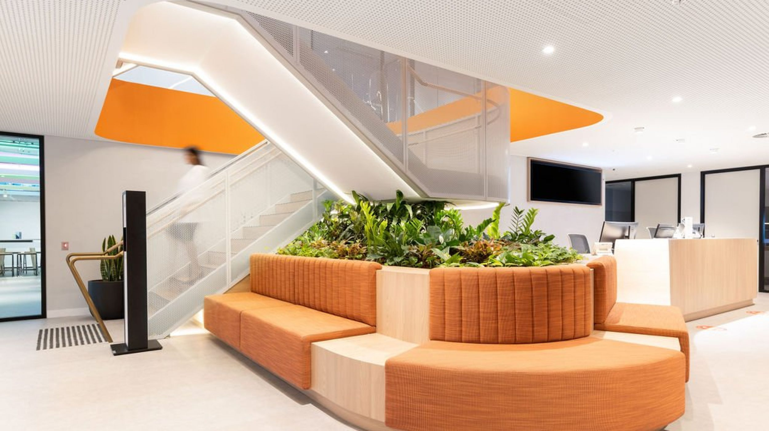 Mesh Feature Stair | oOh! media Sydney | Active Metal 02