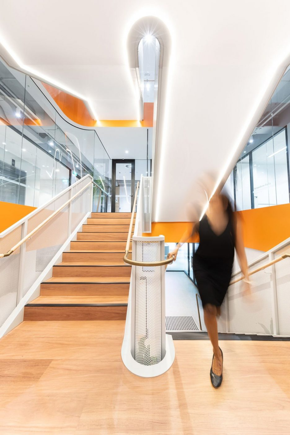 Mesh Feature Stair | oOh! media Sydney | Active Metal 06