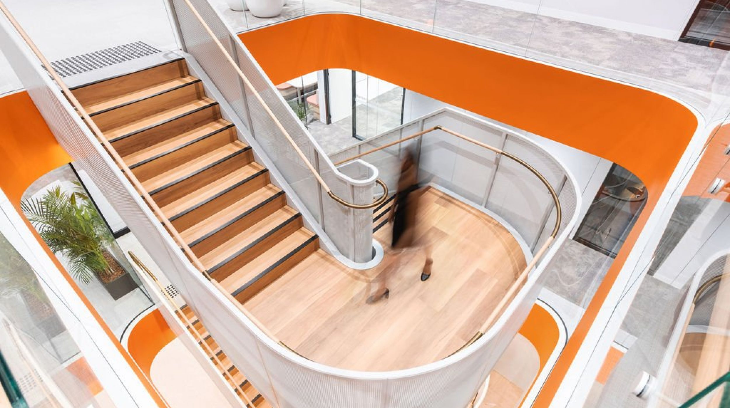 Mesh Feature Stair | oOh! media Sydney | Active Metal 04