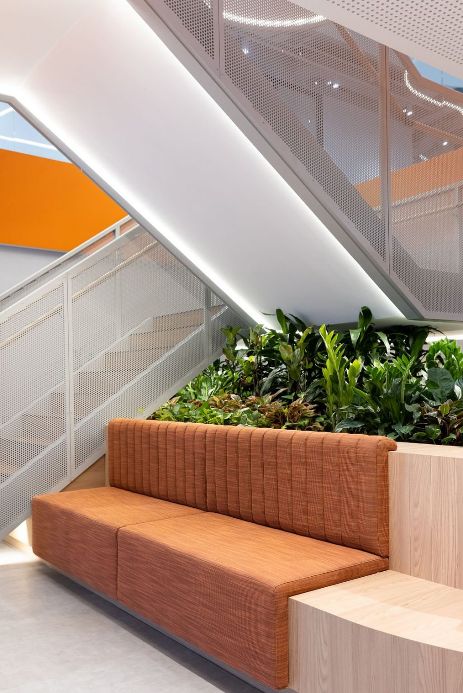 Mesh Feature Stair | oOh! media Sydney | Active Metal 08