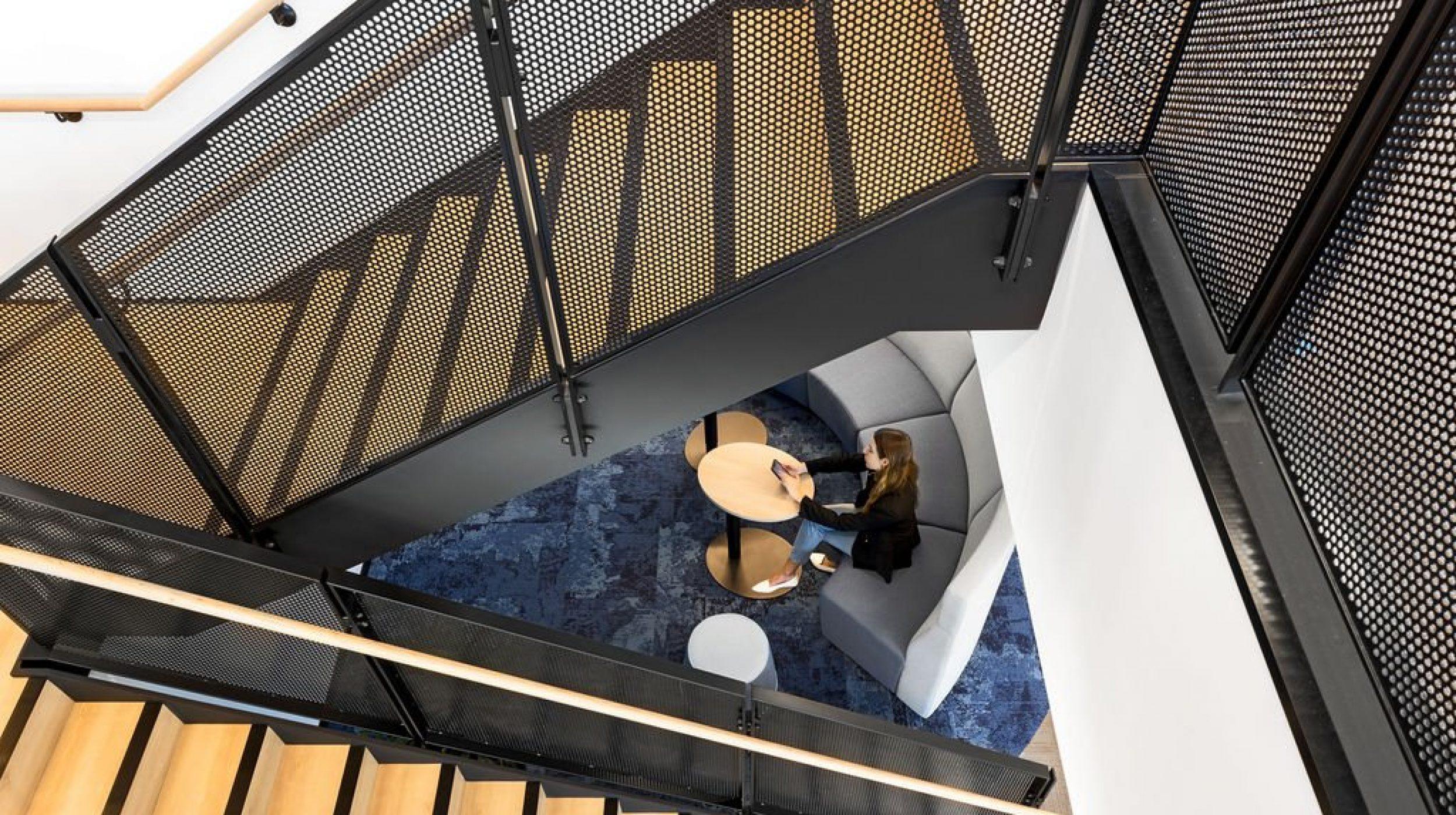 Mesh Steel Staircase | Sydney Water | Active Metal 06