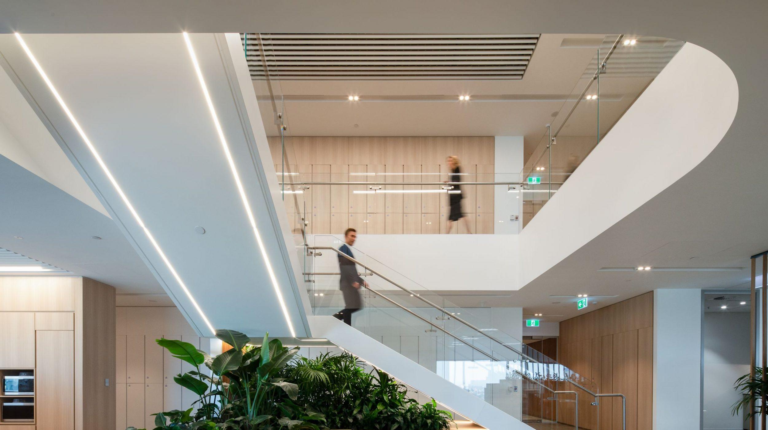 Stair Design   Gilbert + Tobin Melbourne   Active Metal 02