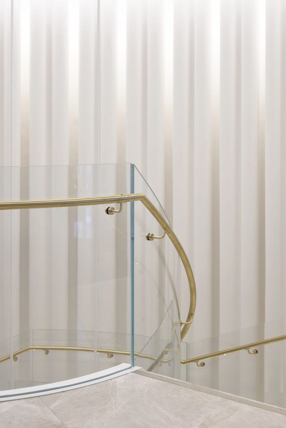 Helical Staircase   Fashion House HQ   Active Metal 06