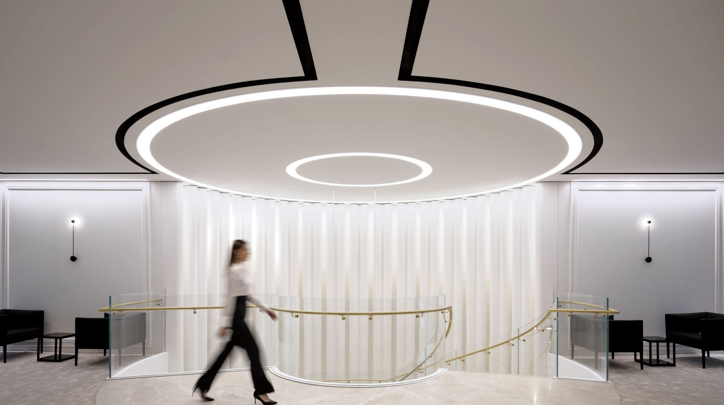 Helical Staircase   Fashion House HQ   Active Metal 05