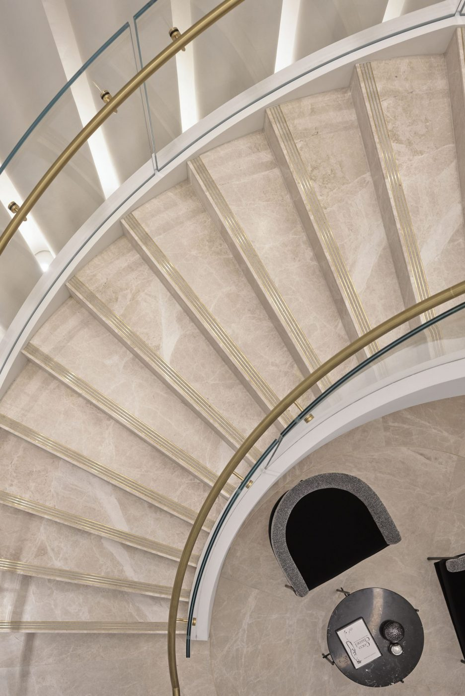 Helical Staircase   Fashion House HQ   Active Metal 04