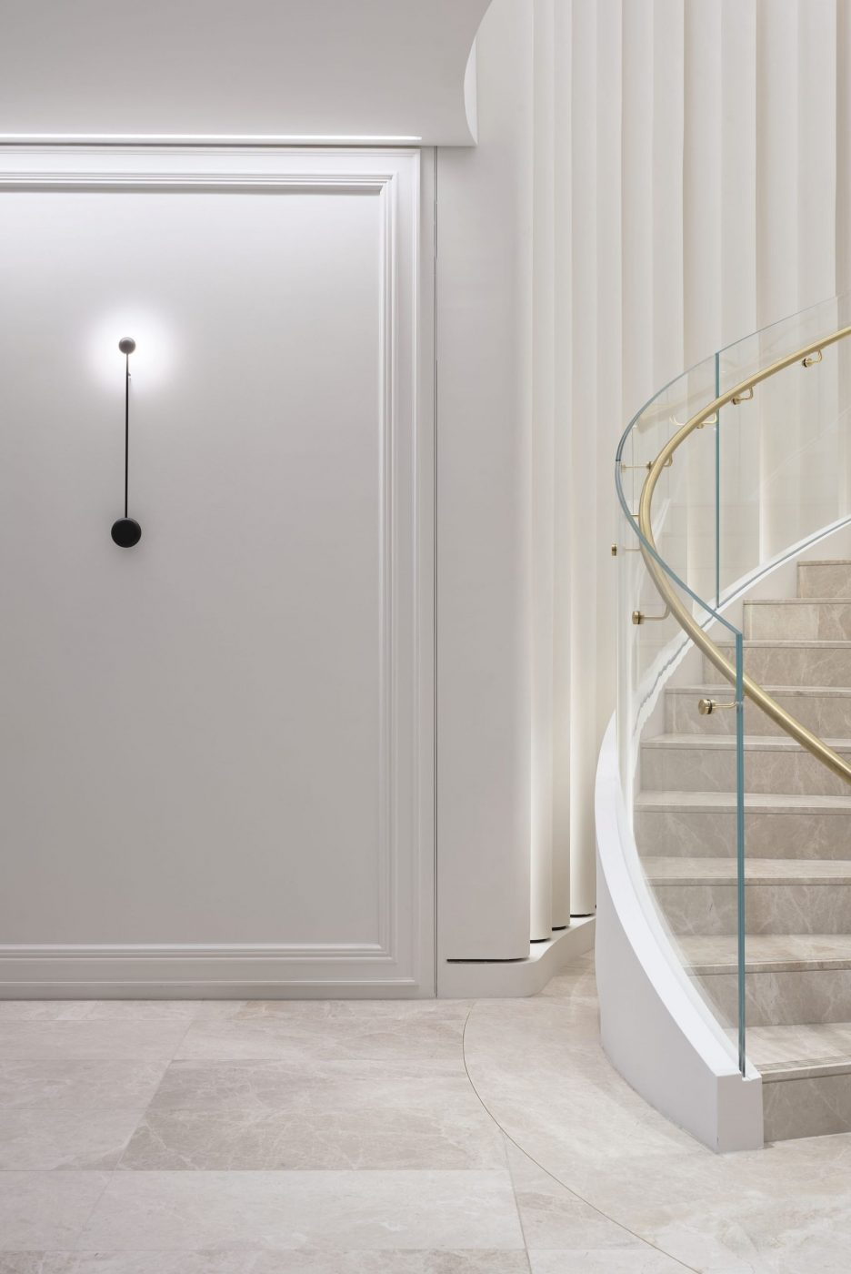 Helical Staircase   Fashion House HQ   Active Metal 02