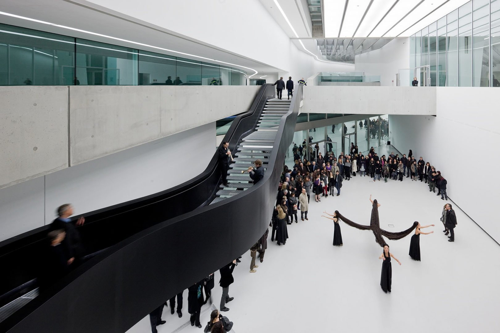 Stair Inspiration -MAXXI Rome Architectural Stairs