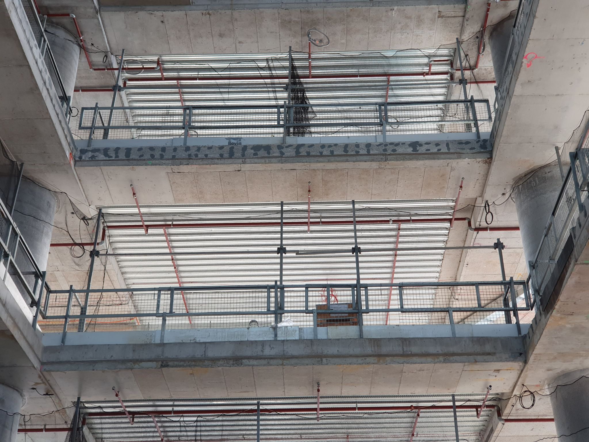 Commercial Staircase Installation - Active Metal