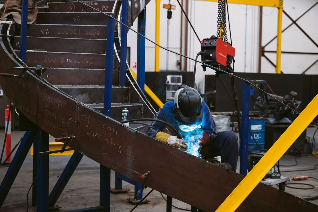 Stair Fabrication -Active Metal