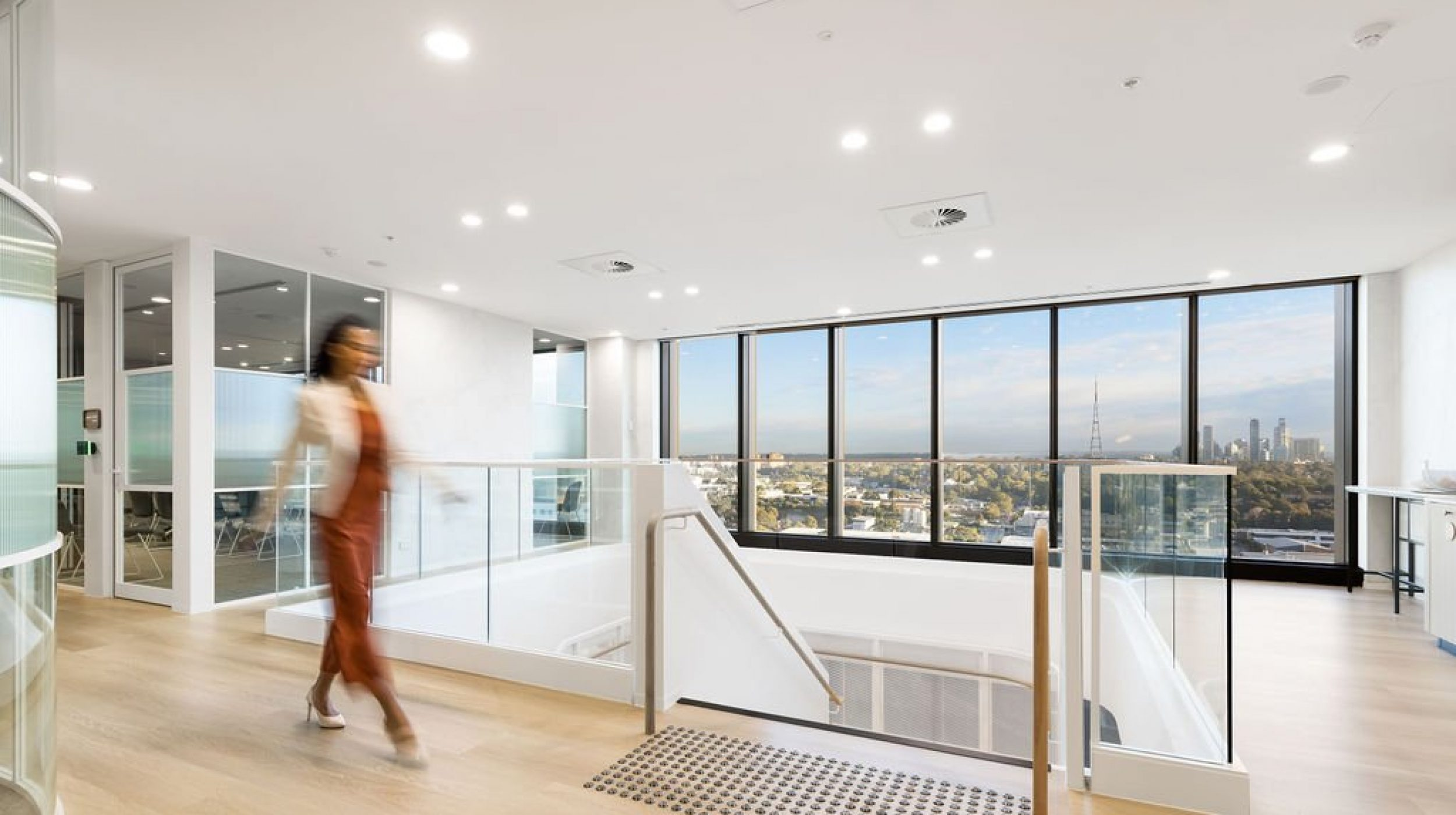 Architectural Staircase | Ramsay Health Care | Active Metal 10