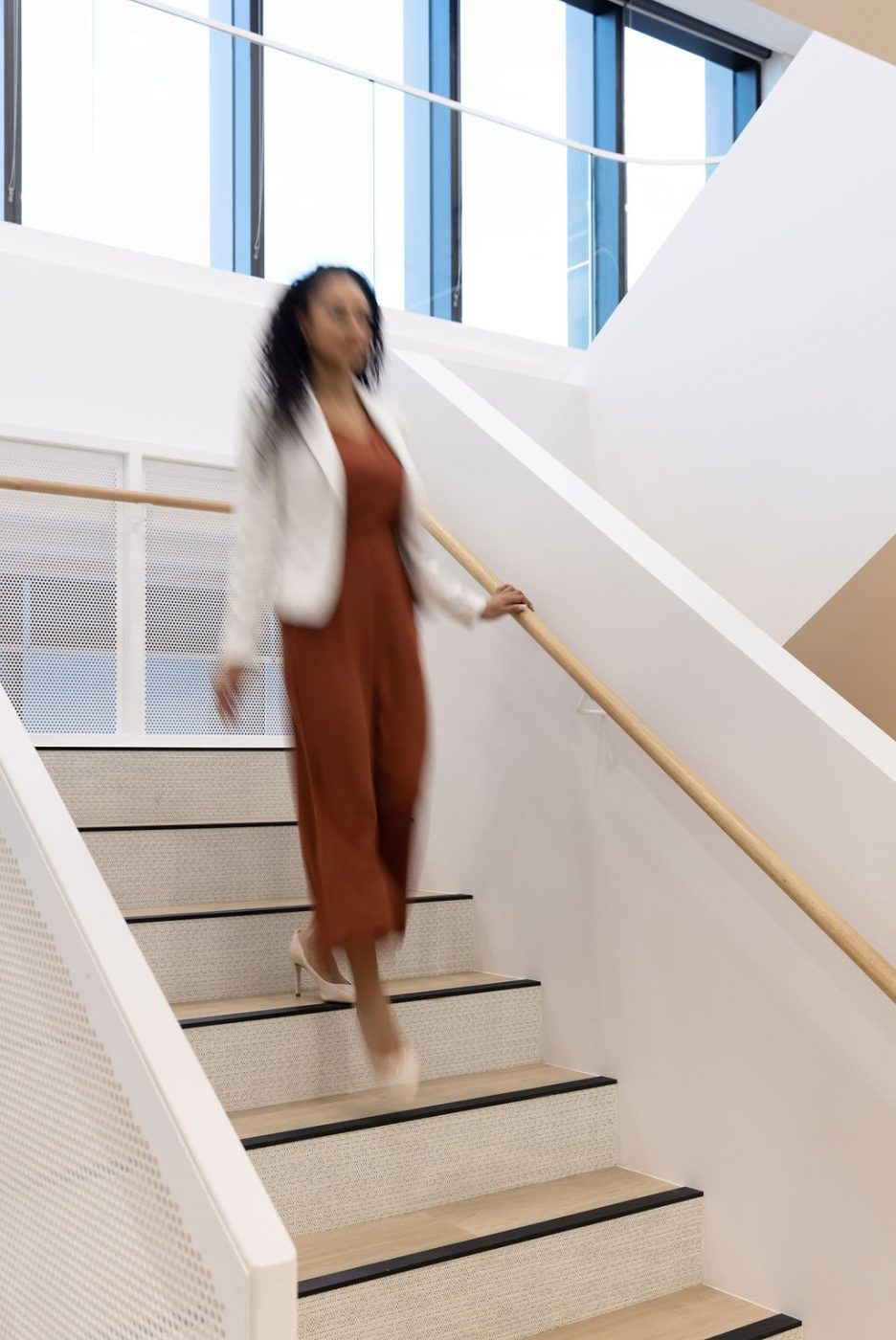 Architectural Staircase | Ramsay Health Care | Active Metal 05