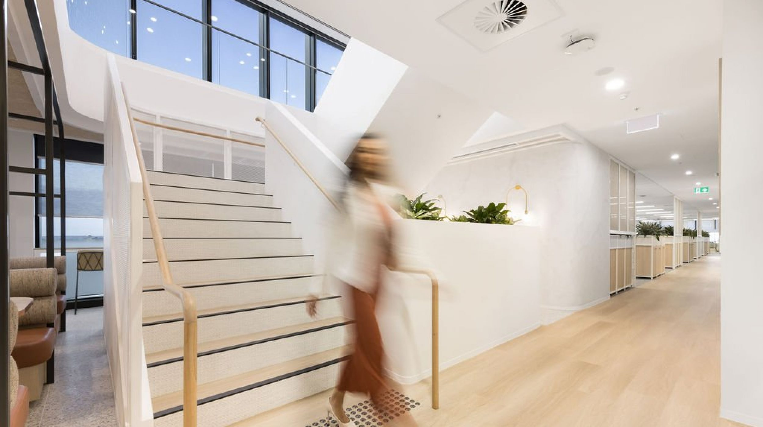 Architectural Staircase | Ramsay Health Care | Active Metal 06