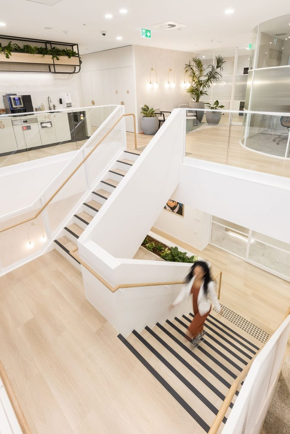 Architectural Staircase | Ramsay Health Care | Active Metal 04