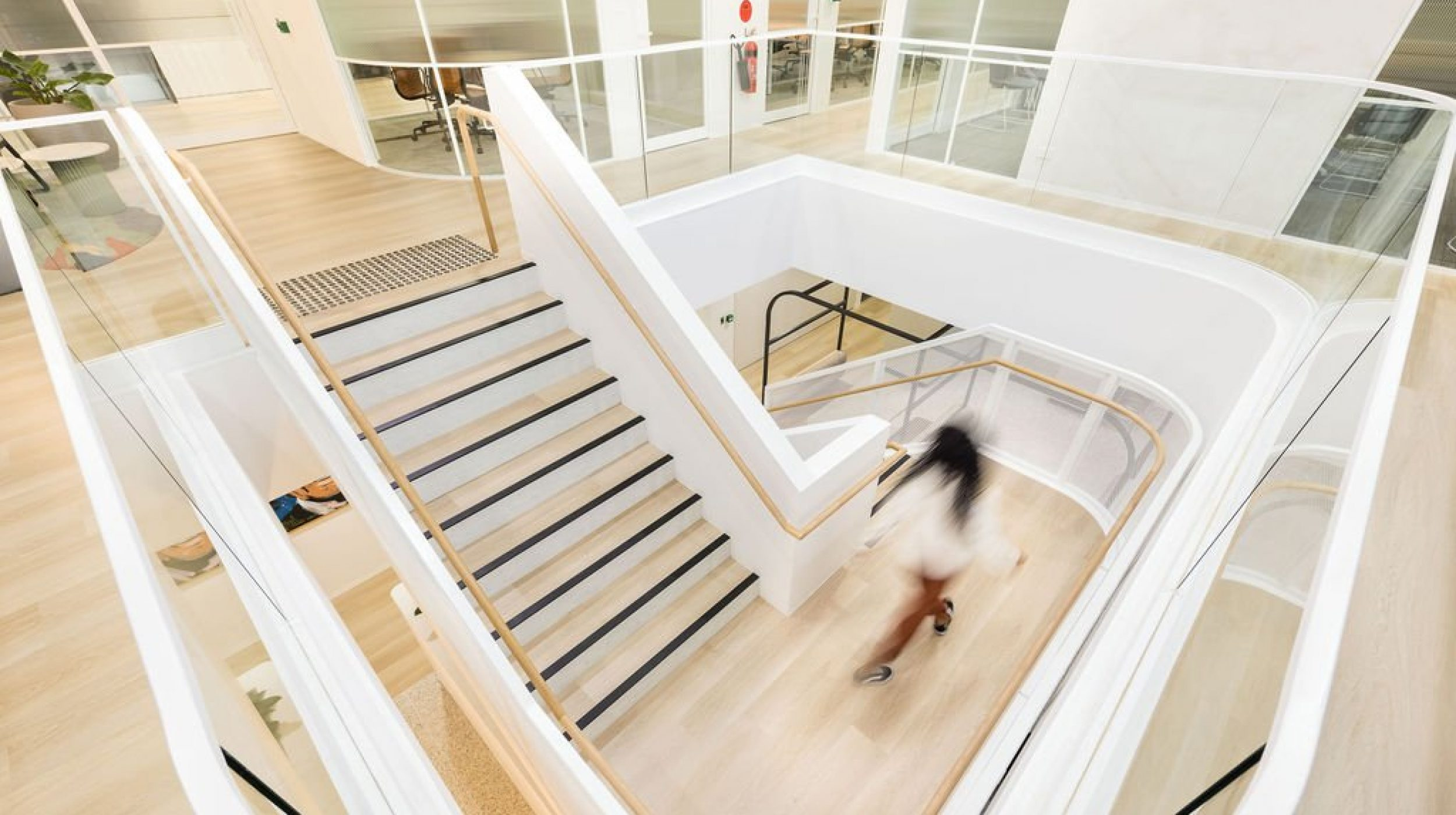 Architectural Staircase | Ramsay Health Care | Active Metal 01