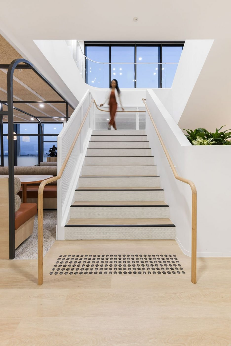 Architectural Staircase | Ramsay Health Care | Active Metal 03